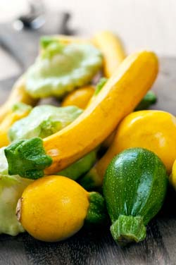 Salvia Small Talk: Summer Squash Sage Sauce with Pasta